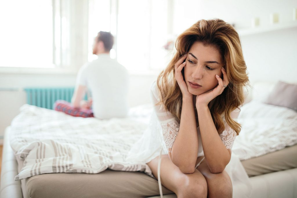 Sleep apnea can undermine your marriage.